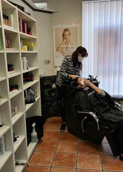 Friseursalon-Birgit-Hartbauer-Kundin